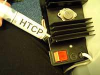 Force non-silicon heat conduction paste