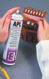 APL400H acrylic acid transparent protective paint  1