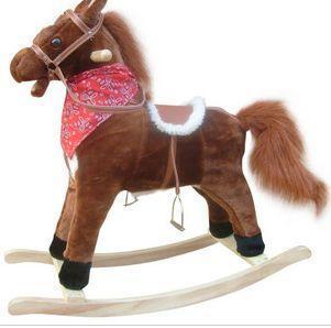 抱抱吧毛絨玩具儿童木馬 1