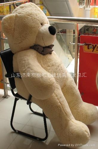 大号毛绒玩具泰迪熊1.8米公仔 1