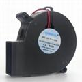 笔记本抽风式散热器用7525直流鼓风机 1