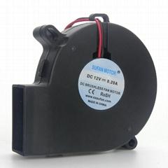 筆記本抽風式散熱器用7525直流鼓風機