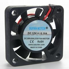超声波加湿器专用4010直流风扇