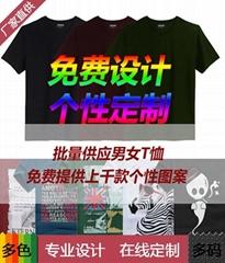 T卹圓領衫廣告服