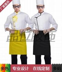 厨师服厨师帽