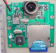 微型錄像SD卡存儲板