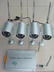 8路無線攝像頭+彩信報警器(2)
