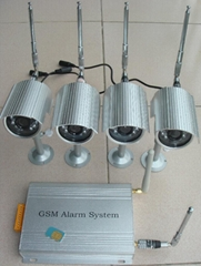 MMS alarm with 8 CH wire