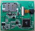 3G Video alarm board