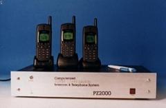 集群无线电话