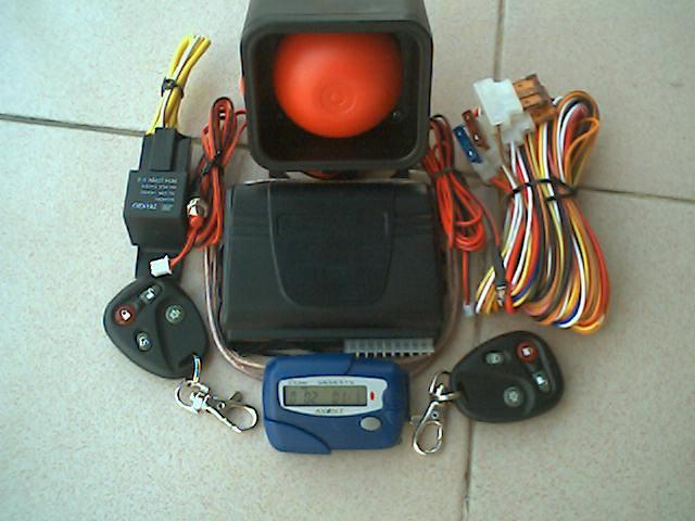 汽车防盗遥控报警器SG-110B(呼台联网) 1