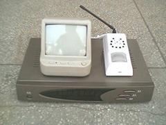 新型無線可視紅外防盜(500米)報警系統