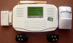 液晶顯示GSM報警器