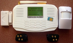 GSM Alarm with LCD & Keyboard