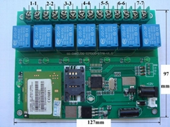 SMS control 7 Relay