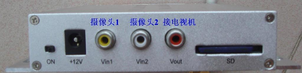 2路AV输入彩信报警器 3