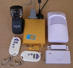 GSM-III自动拍照报警器(外置摄像头)