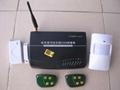 GSM電話短信商用/家用報警器