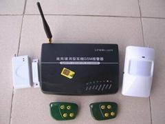 GSM电话短信商用/家用报警器