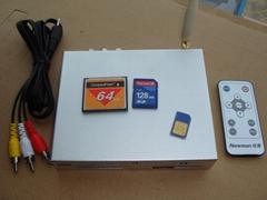 視頻廣告機及GSM短信通知
