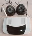 8路無線攝像頭+彩信報警器(3