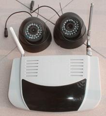 8路無線攝像頭+彩信報警器(3)