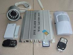 DVR视频录像报警器(带短信)