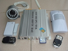 DVR Alarm System with Call and SMS and MMS