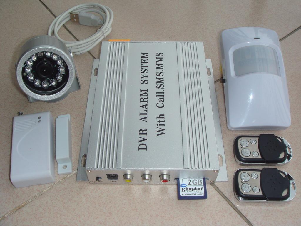 2路AV输入彩信报警器 1