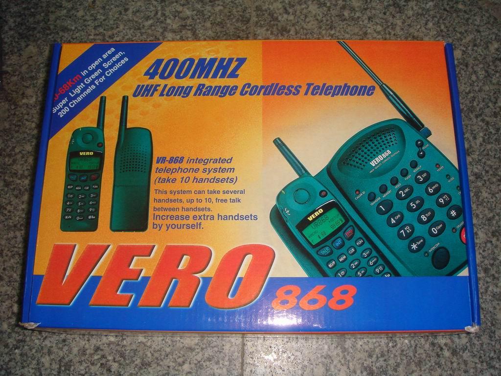 SN-358無繩電話 5