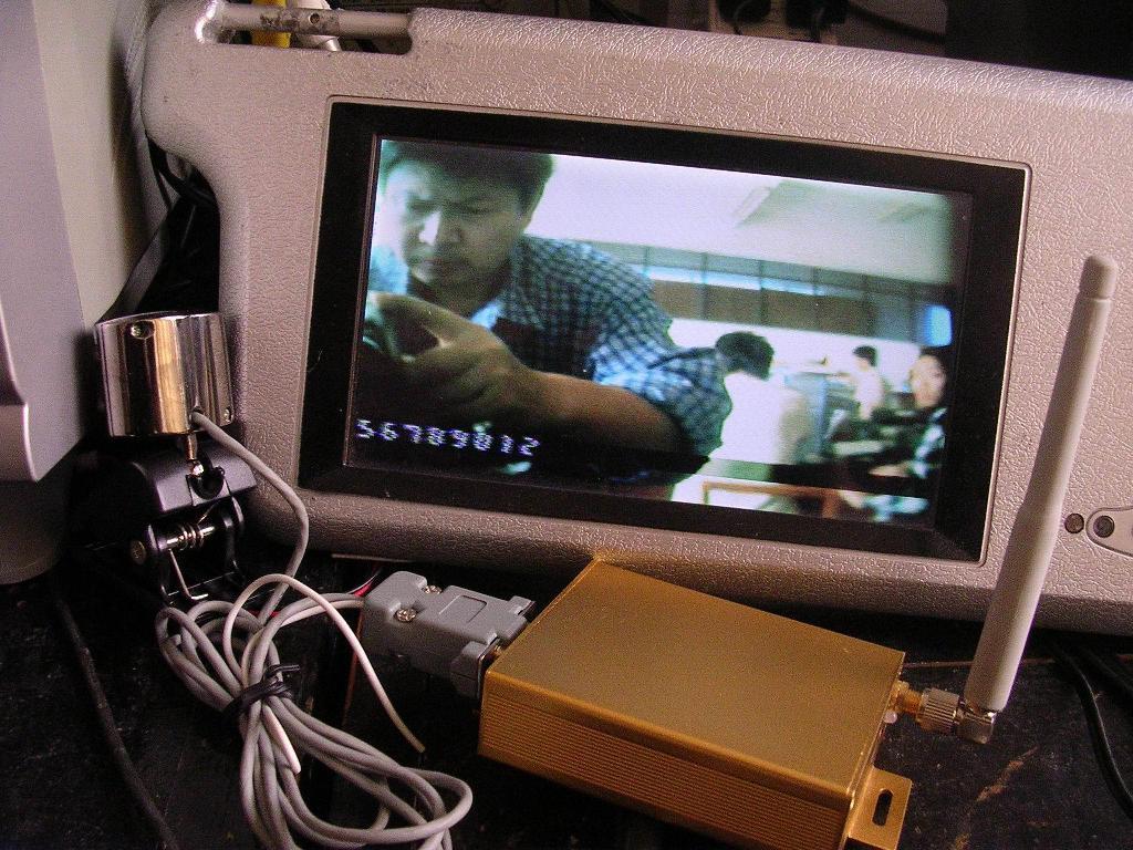 GSM短信息视频字符叠加器 3
