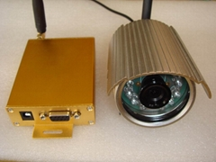 wireless camera image receiver