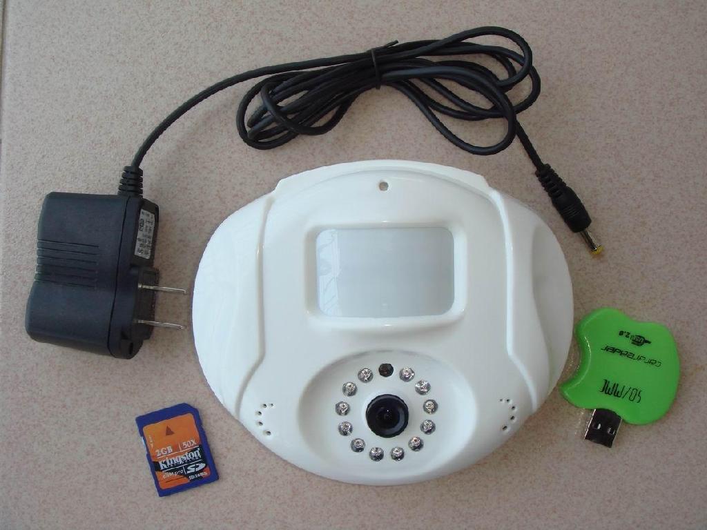 微型红外录像SD卡存储一体机 1