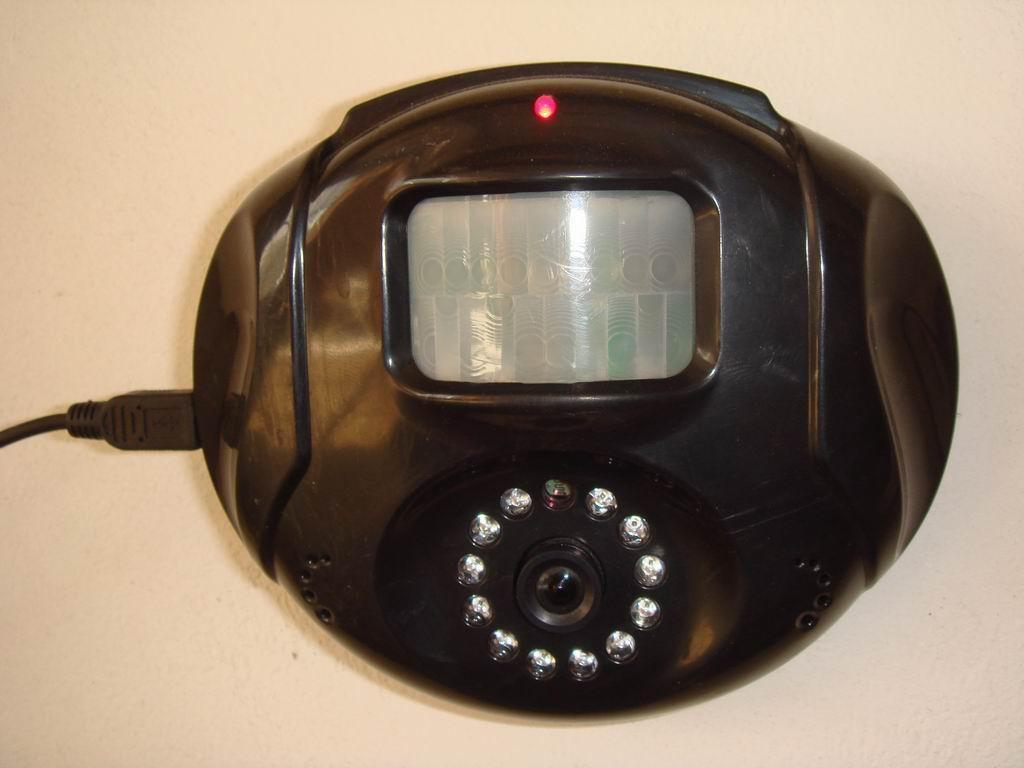 微型红外录像SD卡存储一体机 2