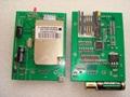 GSM 短信电话报警,控制板