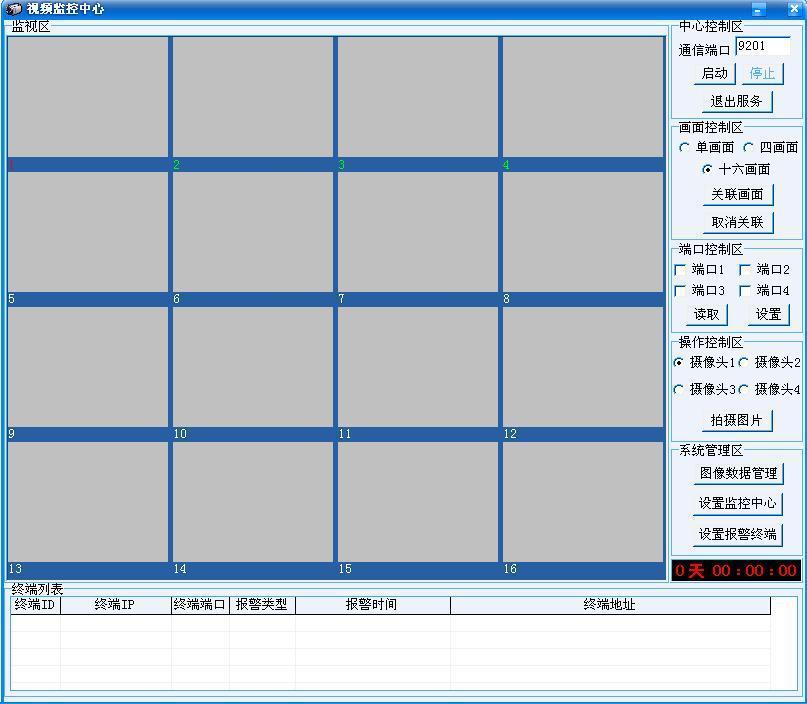 GPRS/CDMA  IP无线图像监控中心 1