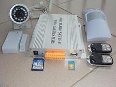 GPRS/CDMA  IP圖像報警終端