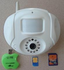 Mini MMS Alarm  with PIR & SD