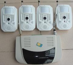 8路无线摄像头+彩信报警器(1