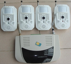 8路無線攝像頭+彩信報警器(1)