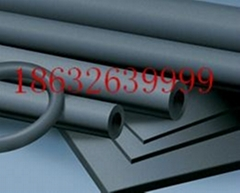 Low temperature rubber foam insulation sheet