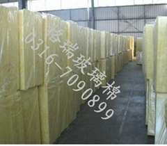 Centrifugal glass wool felt goods
