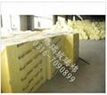 现货供应 保温离心玻璃棉板 幕墙专业玻璃棉板