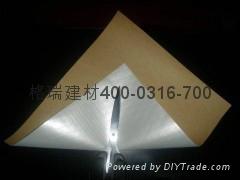 Woven Fabric Laminated Aluminum Foil