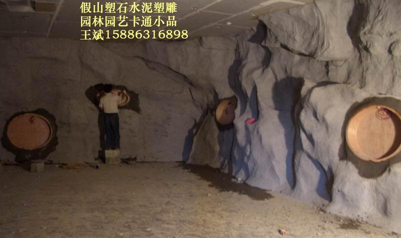 假山溶洞、佛像雕塑、景觀雕塑、仿木仿樹 4
