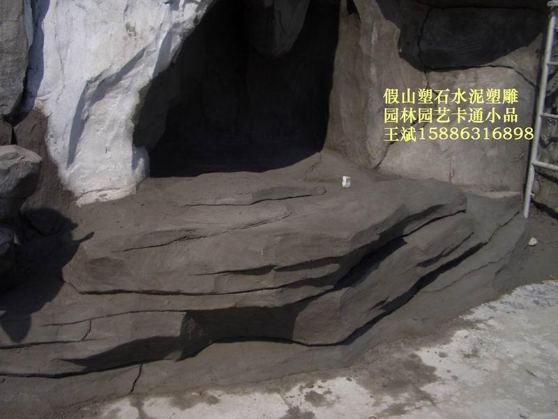 假山溶洞、佛像雕塑、景觀雕塑、仿木仿樹 5