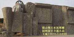 凉亭花架︱房屋包装︱水泥雕塑