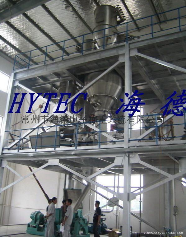 橡膠小料稱重配料生產線 2