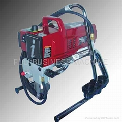 Wall high pressure airless spraying gun