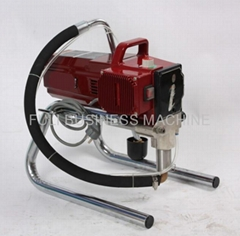 Wall high pressure airless spraying machine